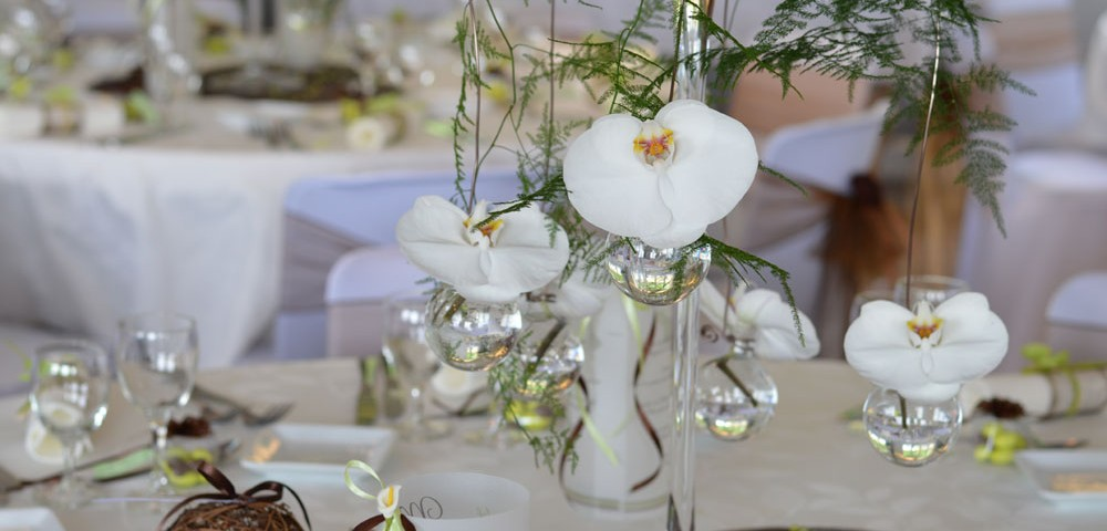 Mariage th me nature chic - Decoration table mariage nature ...