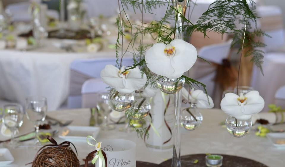 décoration mariage nature vert et chocolat par griffe deco nancy lorraine