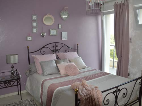d coration chambre romantique rose. Black Bedroom Furniture Sets. Home Design Ideas
