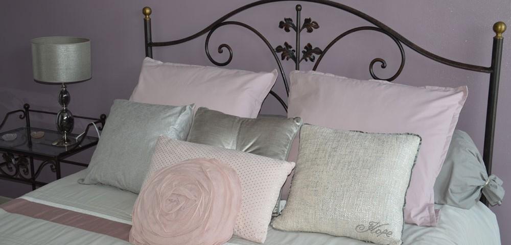 Agreable Decoration Chambre Romantique Rose Et Gris Griffe Deco Nancy Lorraine
