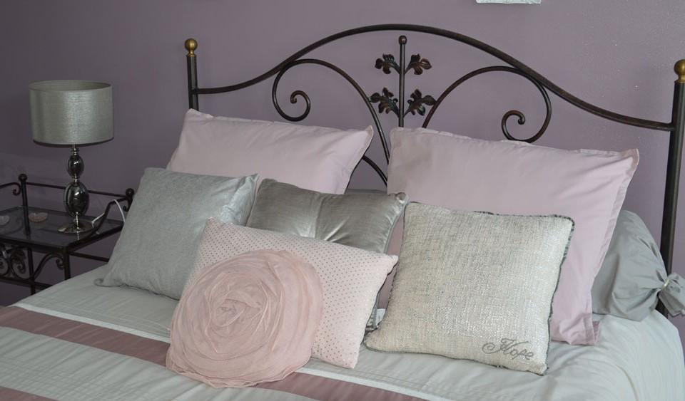 decoration chambre romantique rose et gris griffe deco nancy lorraine