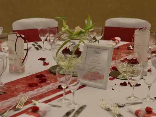 decoration mariage thème bordeau par griffe deco nancy lorraine