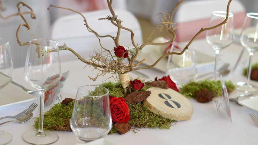 décoration mariage rouge par griffe deco nancy lorraine