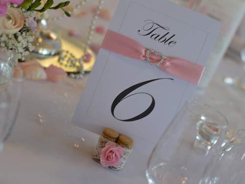 deco mariage romantique rose griffe deco nancy