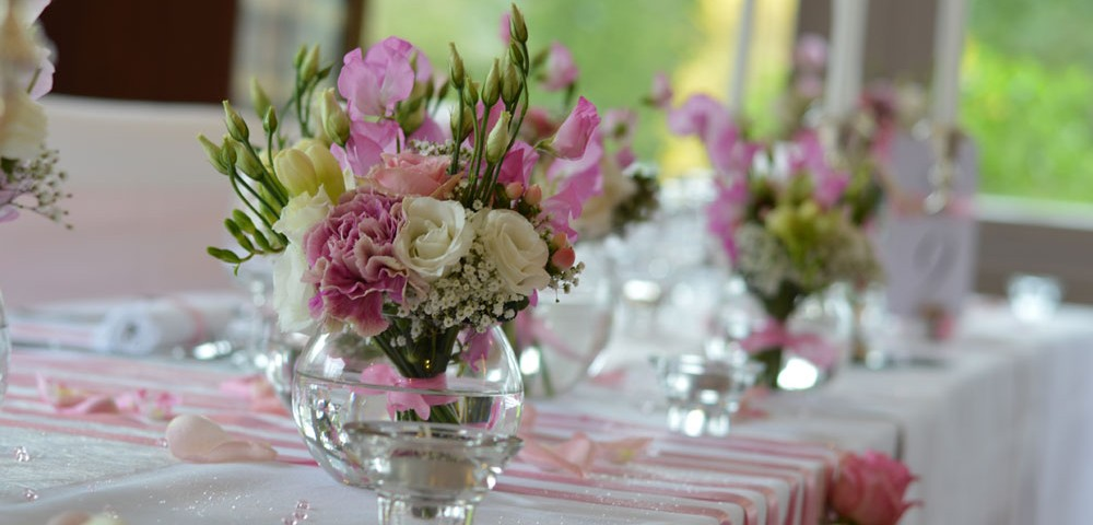 mariage romantique rose par griffe deco