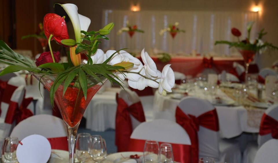 decoration mariage rouge et or griffe deco nancy lorraine