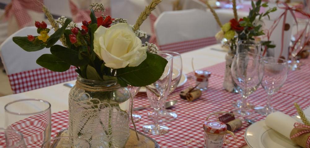 decoration mariage pique nique vichy par griffe deco nancy