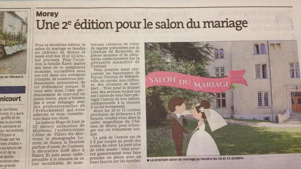 Salon du mariage ch teau de morey - Salon du mariage caen 2015 ...
