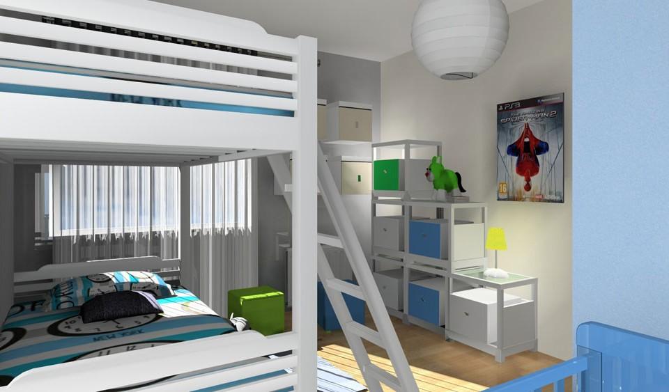 chambre enfants en 3d par griffe deco nancy