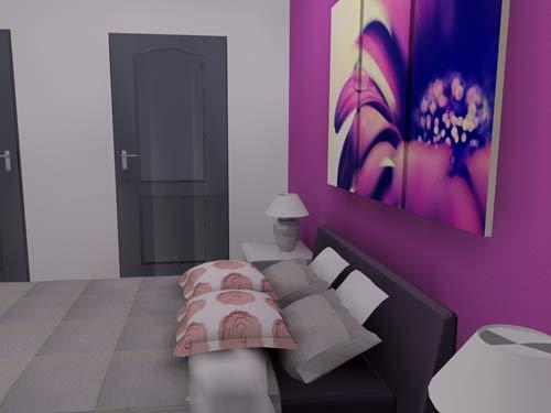 chambre en 3d par griffe deco nancy