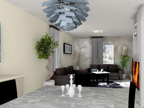 D co flash for Decoration 30m2