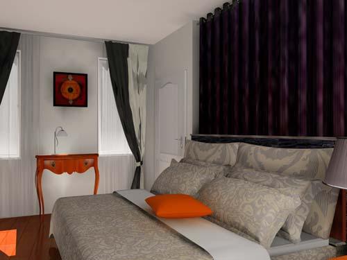 relooking en 3d chambre. Black Bedroom Furniture Sets. Home Design Ideas