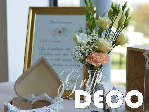 mariage vintage chic par griffe deco mariages salle de mousson. Black Bedroom Furniture Sets. Home Design Ideas
