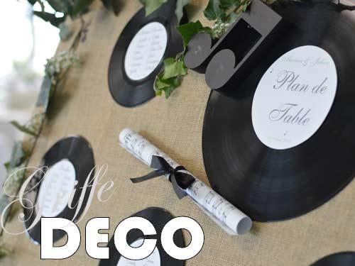 Décoration mariage champêtre thème musique par griffe deco nancy